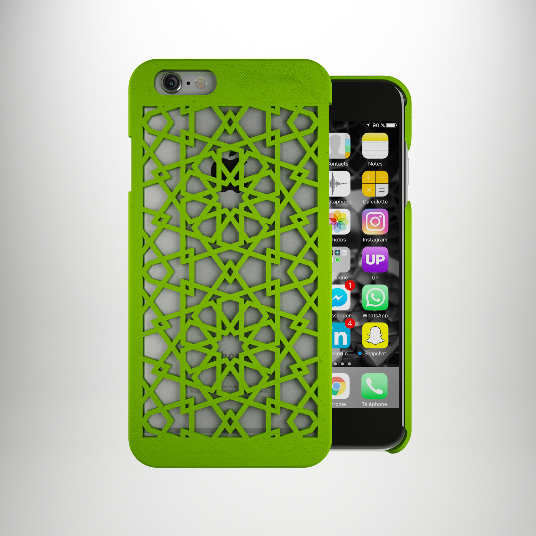 iphone 6 et 6s cover mod le pour imprimante 3d younes duret design. Black Bedroom Furniture Sets. Home Design Ideas